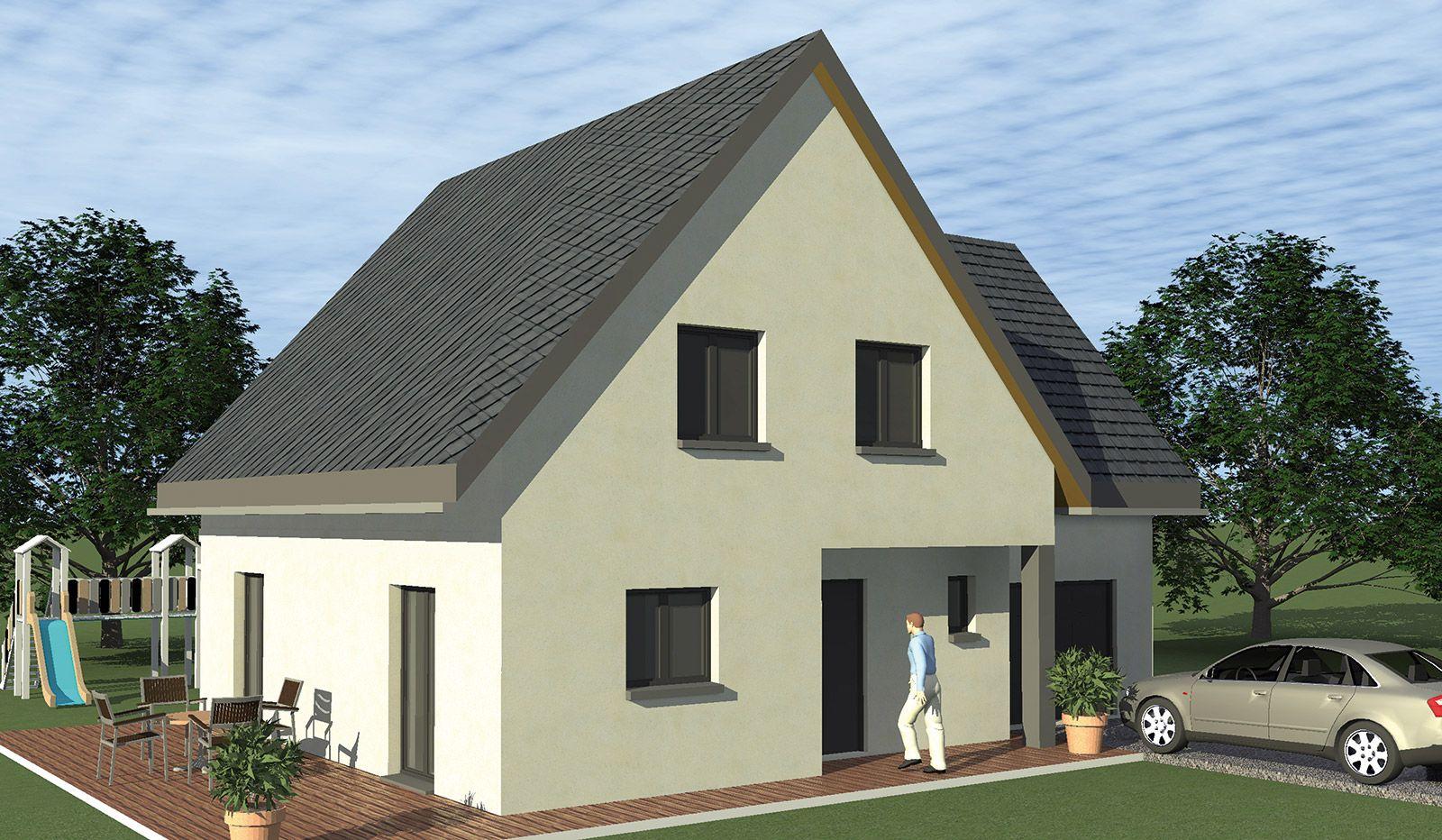 Faire construire maison avec garage