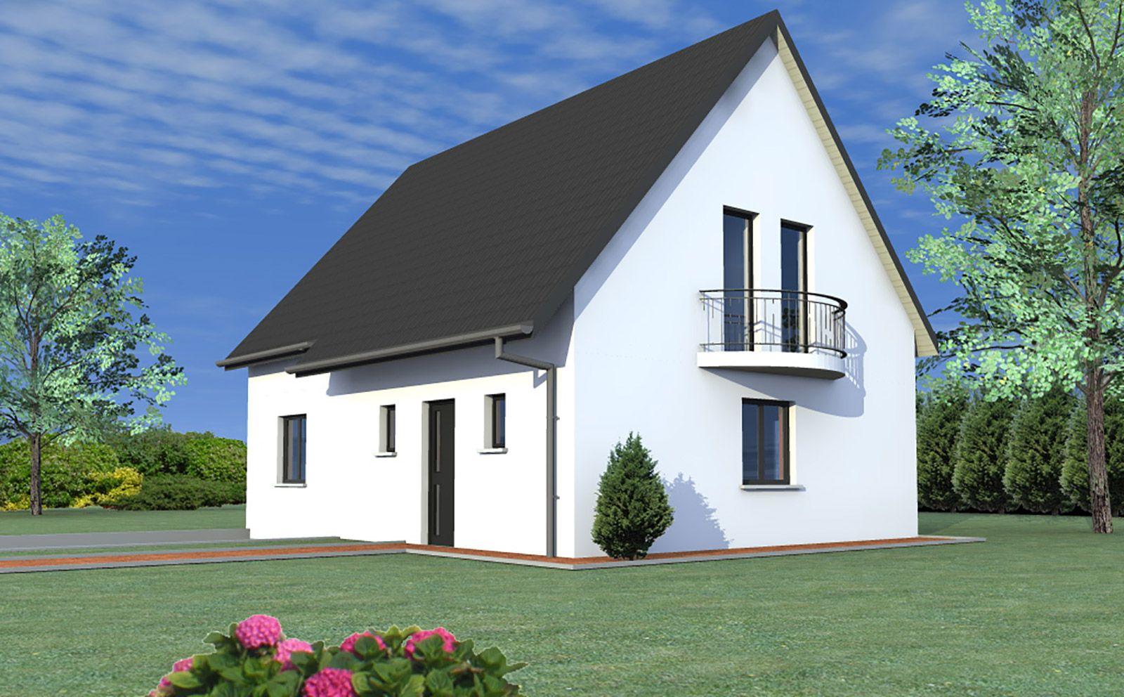 maison traditionnelle balcon constructeur