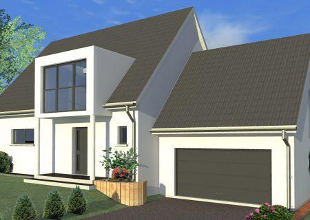 Constructeur maison avec garage accolé