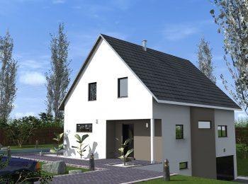 maison neuve 2 pans|grande maison à construire|