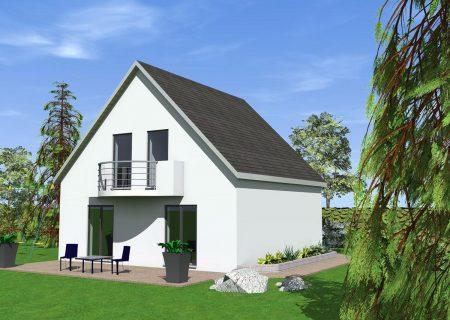 construire maison traditionnelle 2 pans