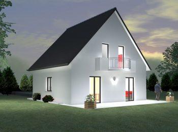 |maison traditionnelle balcon constructeur