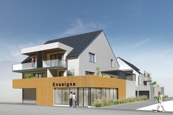 F3 HESINGUE CENTRE residence neuve hesingue