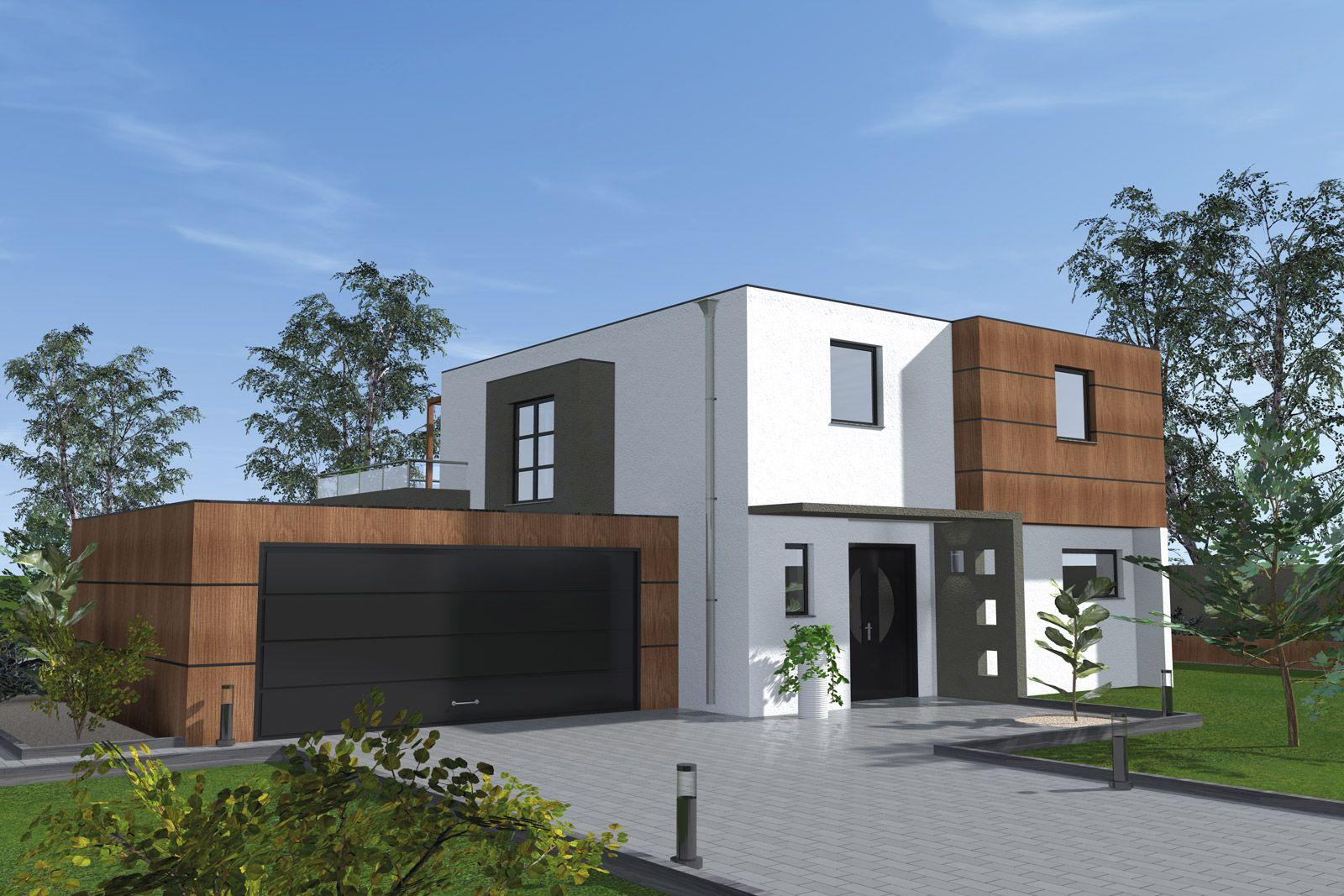 Constructeur maison toit plat alsace