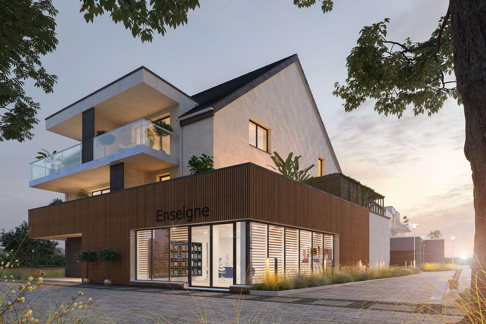 Appartement situé à Hésingue