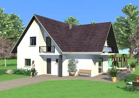 Grande maison familiale à construire