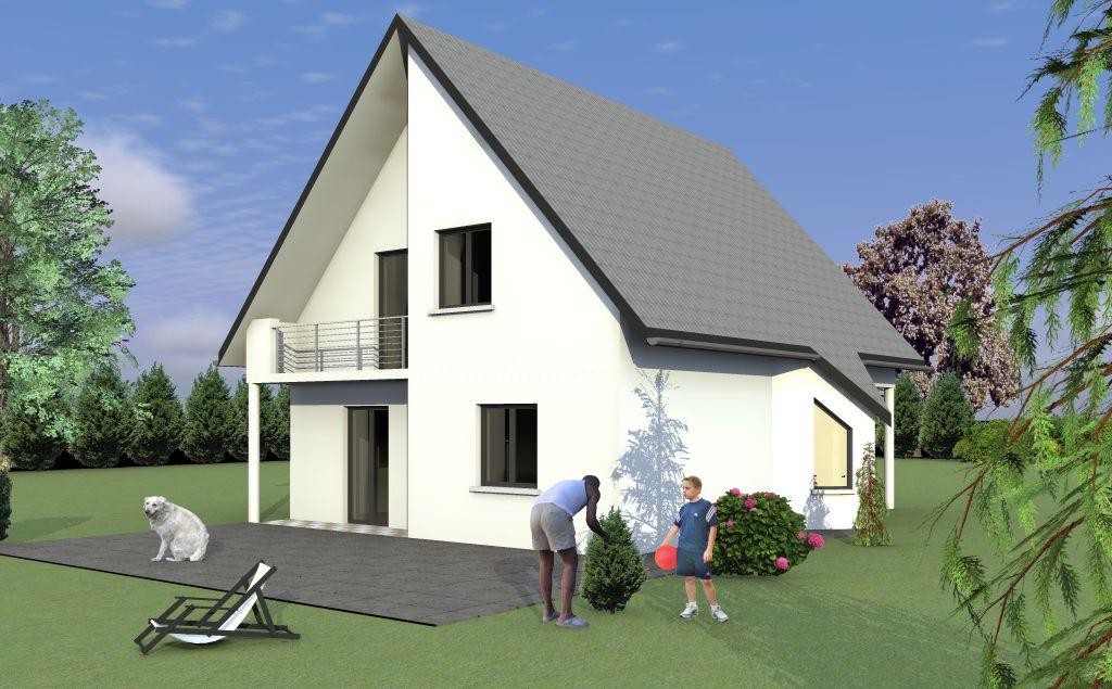 maison traditionnelle 2 pans