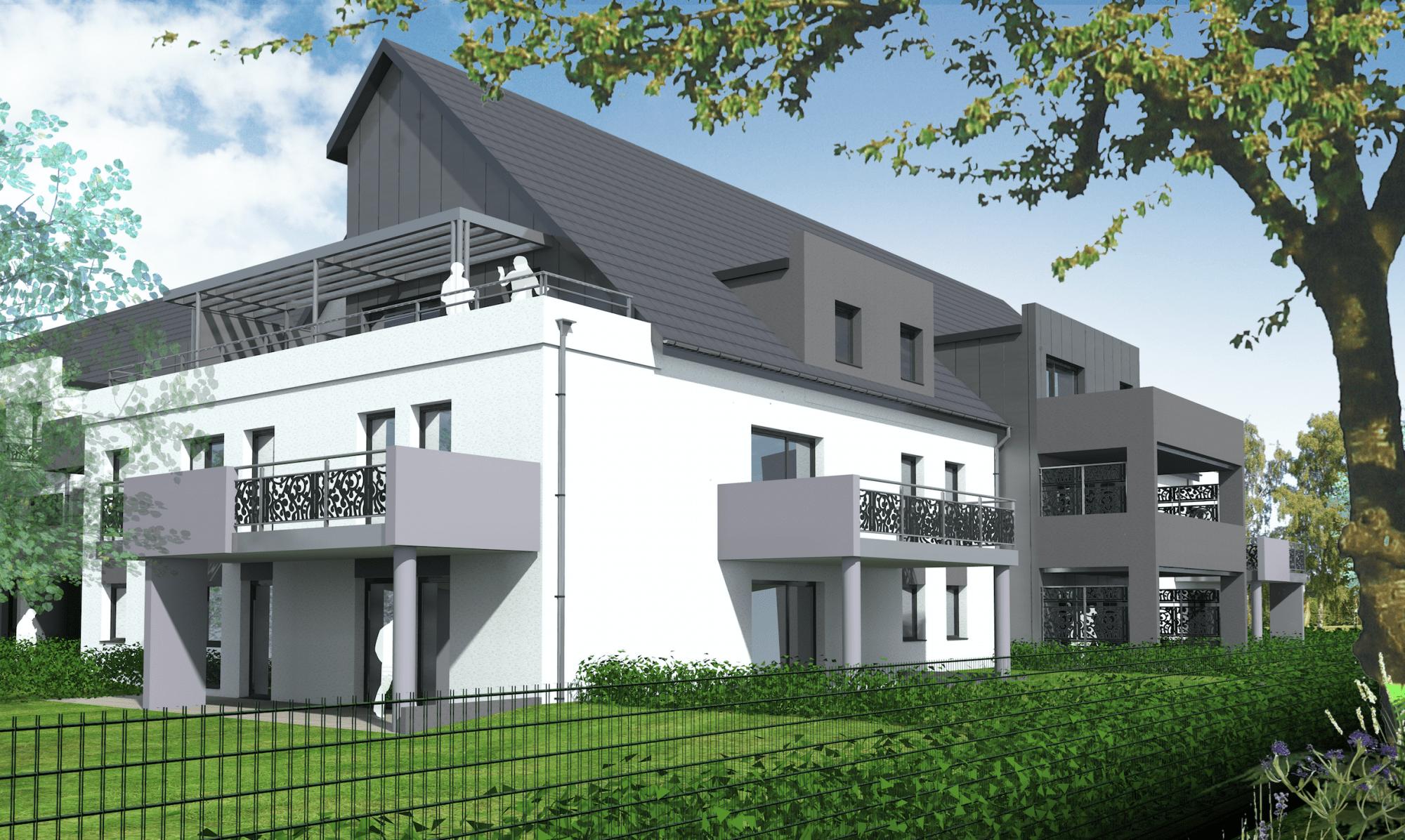 Hésingue appartements résidence EDEN PREMIUM Blotzheim logement Hésingue logements